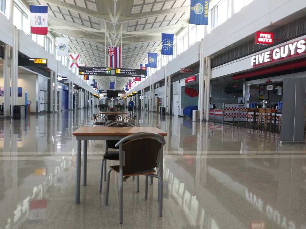 Dulles airport/ Kimberly Sullivan