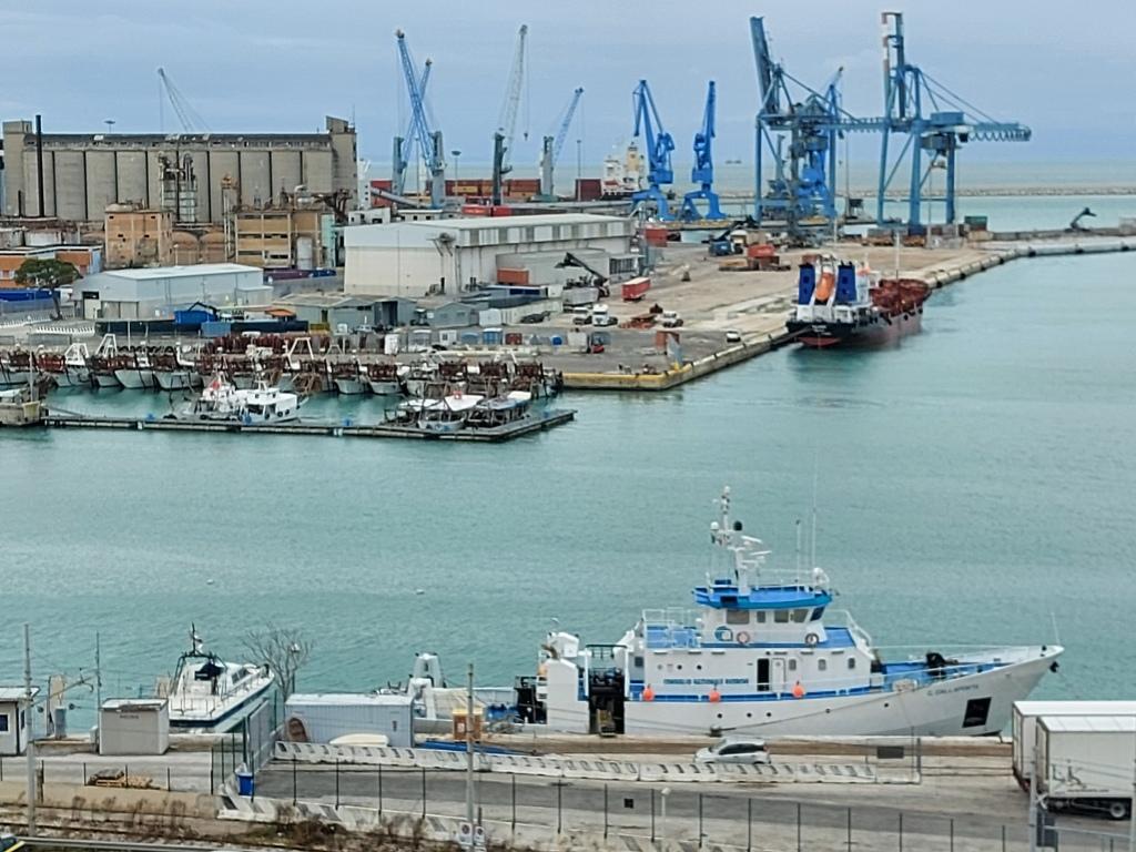 Ancona port, Italy / Kimberly Sullivan