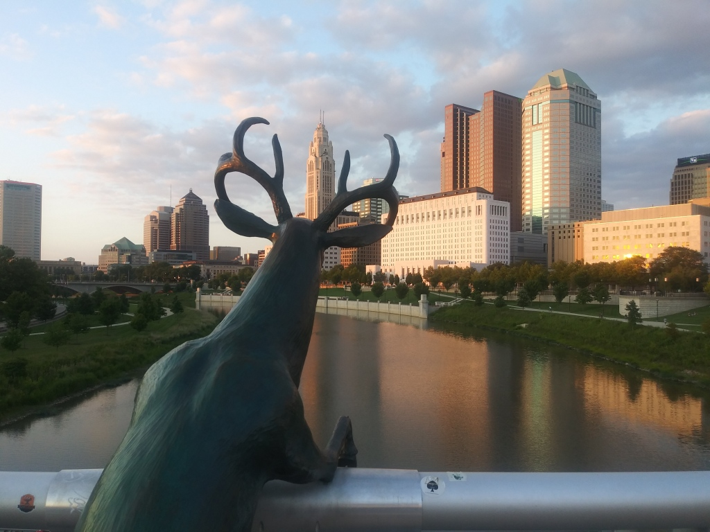 Scioto River walk, Columbus, Ohio / Kimberly Sullivan